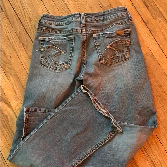 Silver Jeans Denim - Silver women's jeans